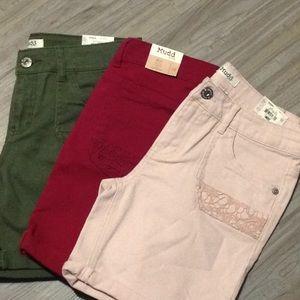 Girls shorts size 16